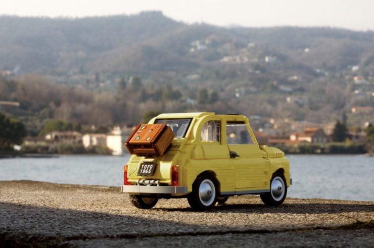 Lego Fiat 500 Back