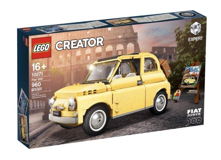 Lego Fiat 500 In Box
