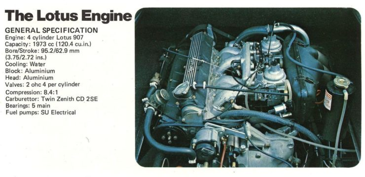 Lotus 907 Engine