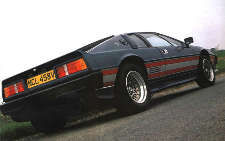 Lotus Esprit Essex Rear