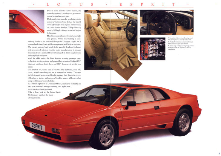 Lotus Esprit Turbo Car
