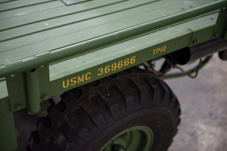 M274 Mule 1/2 Ton 4x4 Markings