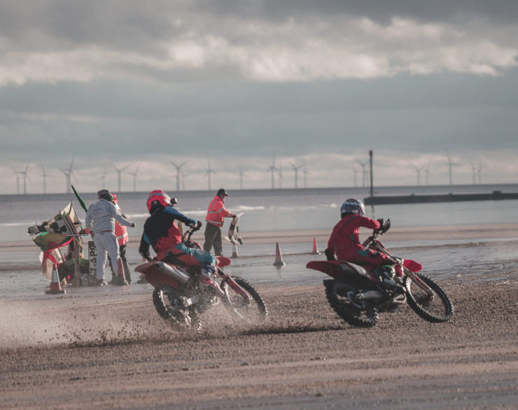 Mablethorpe Motorcycle Sand Racing 7