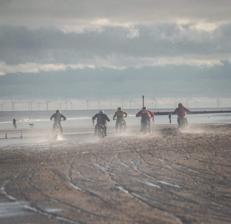 Mablethorpe Motorcycle Sand Racing