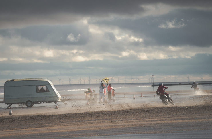Mablethorpe Motorcycle Sand Racing 8