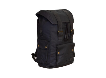 Merlin Ashby Waxed Cotton Rucksack