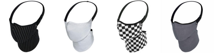 Motorcycle Anti-Pollution Masks by Rare Bird London Collage