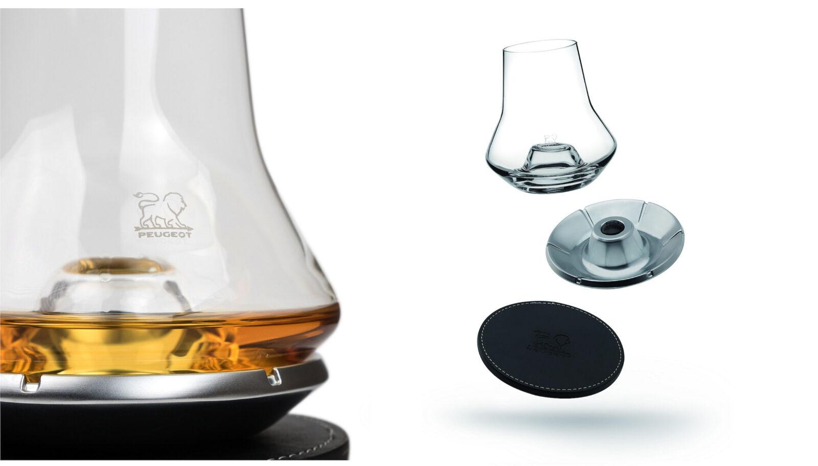 Peugeot Impitoyable Whiskey Tasting Set Main