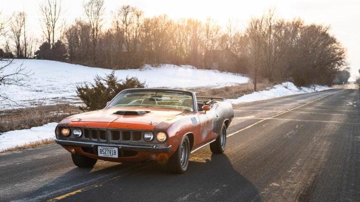 Plymouth Cuda 440-6 1