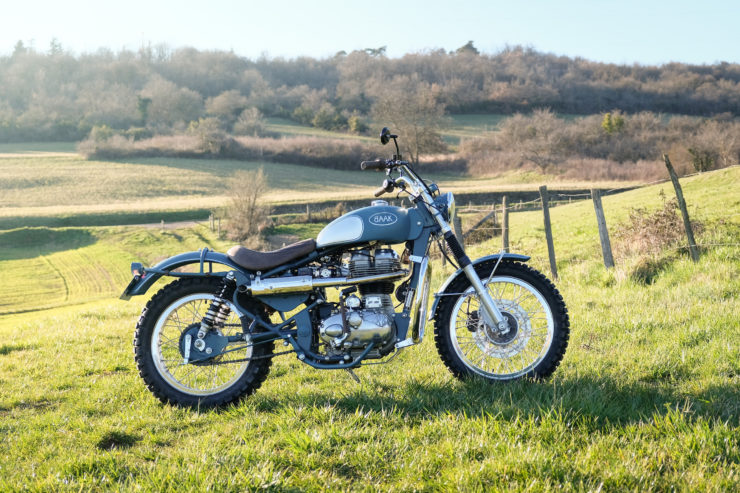 Royal Enfield Classic 500 Scrambler Side