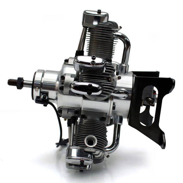 Saito FG-73R5 5-Cylinder Radial Engine 2