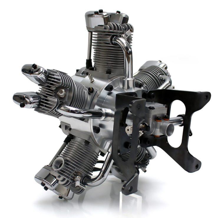 Saito FG-73R5 5-Cylinder Radial Engine 3