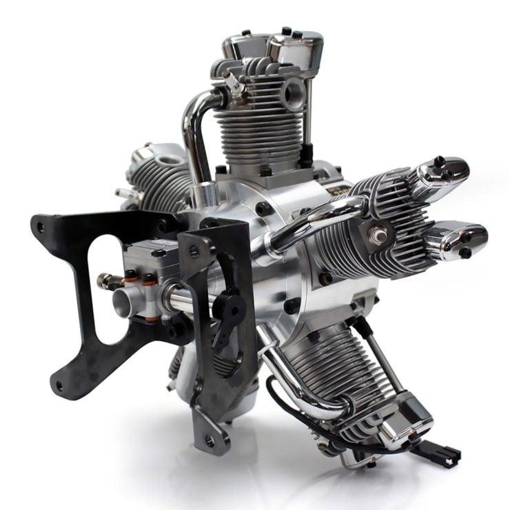 Saito FG-73R5 5-Cylinder Radial Engine 5