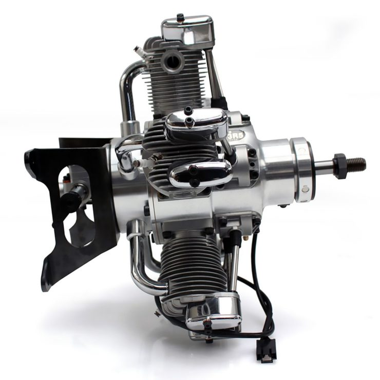 Saito FG-73R5 5-Cylinder Radial Engine 6