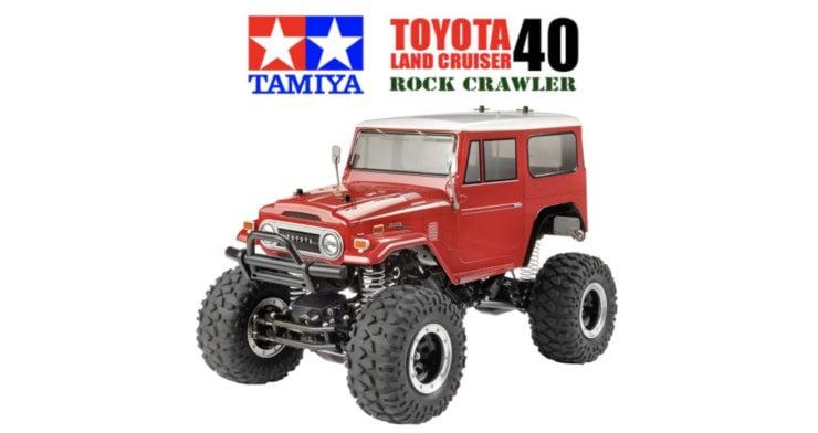 Tamiya Toyota Land Cruiser 40 CR-01 Rock Crawler Box