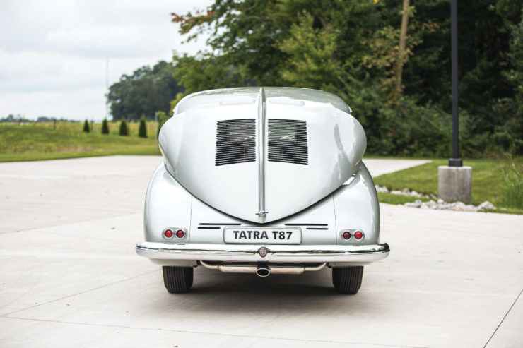 Tatra T87 Back