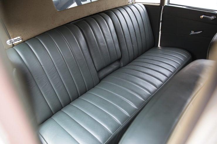 Tatra T87 Back Seat