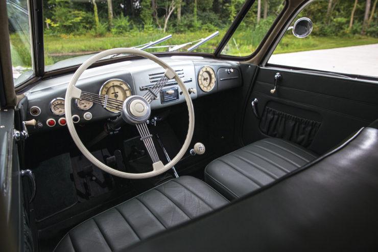 Tatra T87 Interior