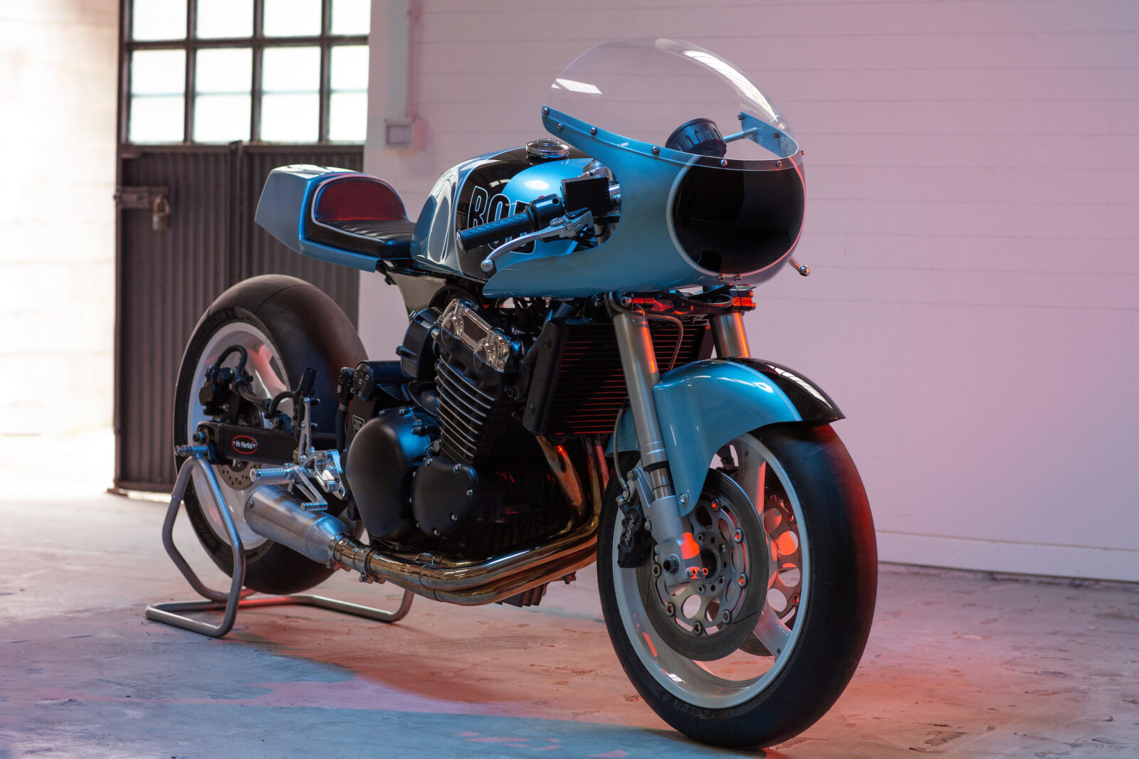 The Triumph Bob - A Custom Motorcycle by Mr Martini 2