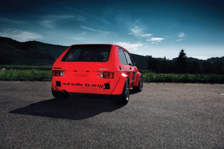 Volkswagen Golf Mk 1 Back 2