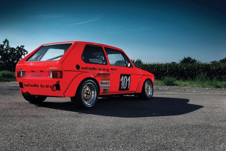 Volkswagen Golf Mk 1 Side