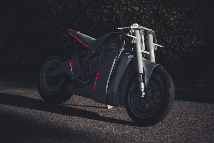 ZERO XP SR F Custom Electric Motorcycle 6