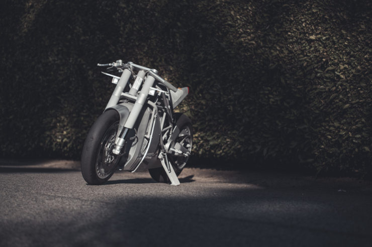 ZERO XP SR F Custom Electric Motorcycle Front 2