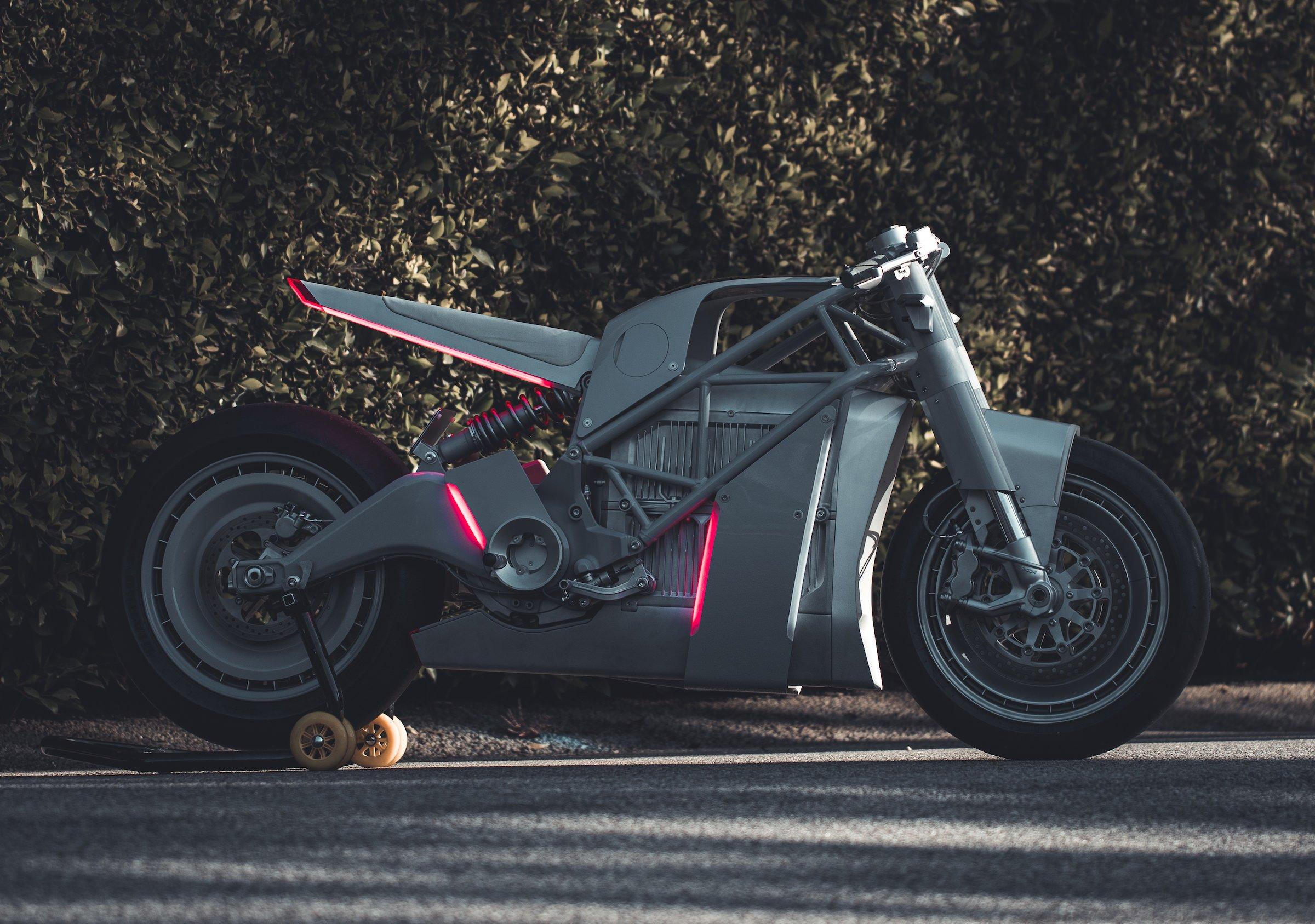 ZERO XP SR F Custom Electric Motorcycle Lights