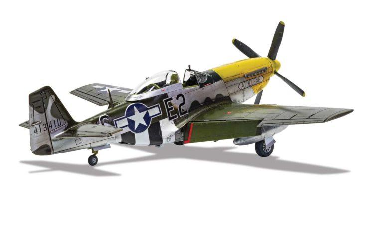 Airfix North American P51-D Mustang 1