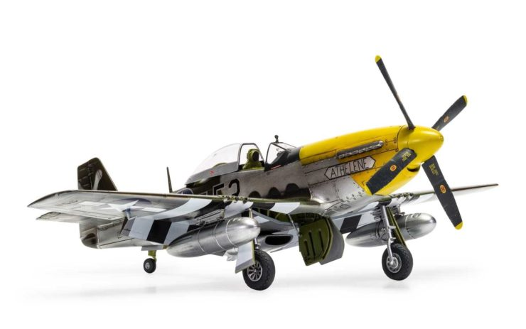 Airfix North American P51-D Mustang 2