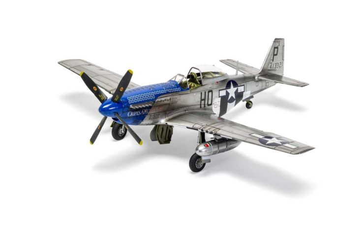 Airfix North American P51-D Mustang 3