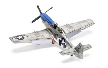 Airfix North American P51-D Mustang 4
