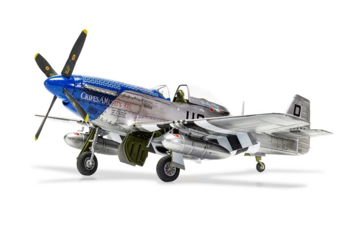 Airfix North American P51-D Mustang 5
