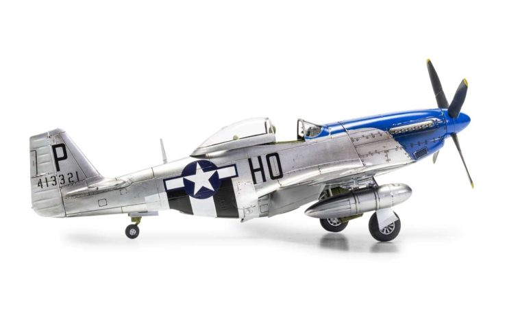 Airfix North American P51-D Mustang 6