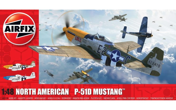 Airfix North American P51-D Mustang