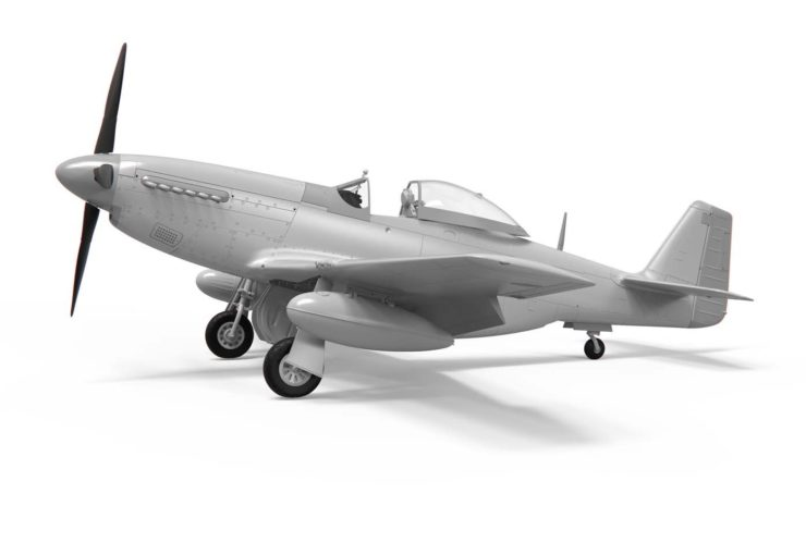 Airfix North American P51-D Mustang No Paint