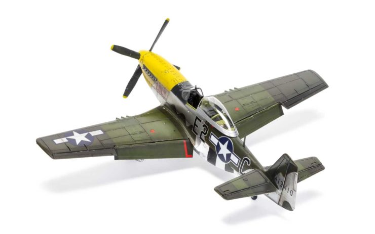 Airfix North American P51-D Mustang Paint 2