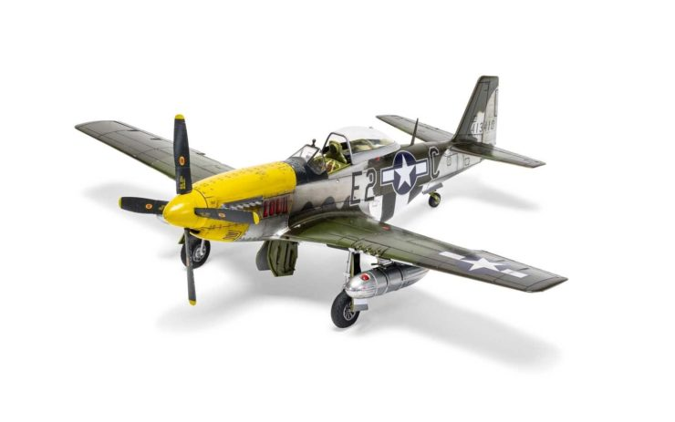 Airfix North American P51-D Mustang Paint