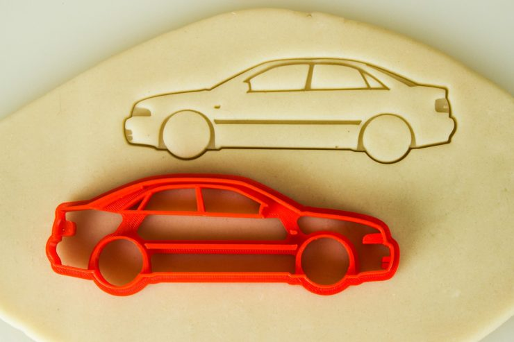 Audi Car Cookie Cutters