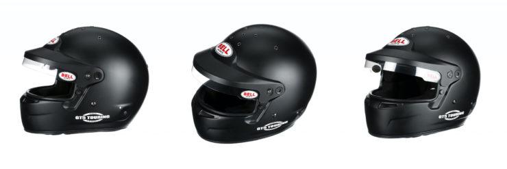 Bell GT5 Touring Helmet Black Peak