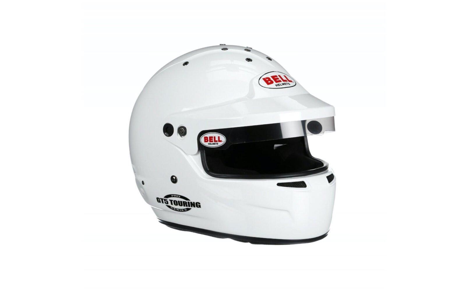Bell GT5 Touring Helmet White 5