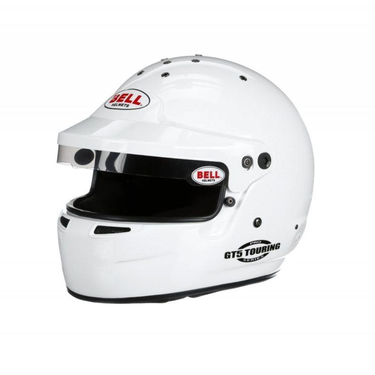 Bell GT5 Touring Helmet White