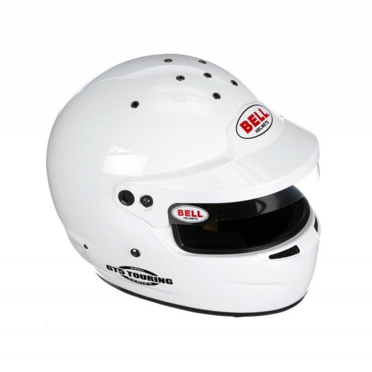 Bell GT5 Touring Helmet White Top