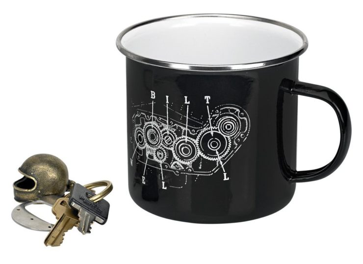 Biltwell Camp Mug Black