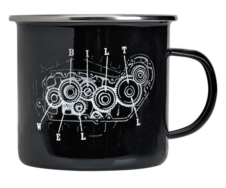 Biltwell Camp Mug Black Closeup
