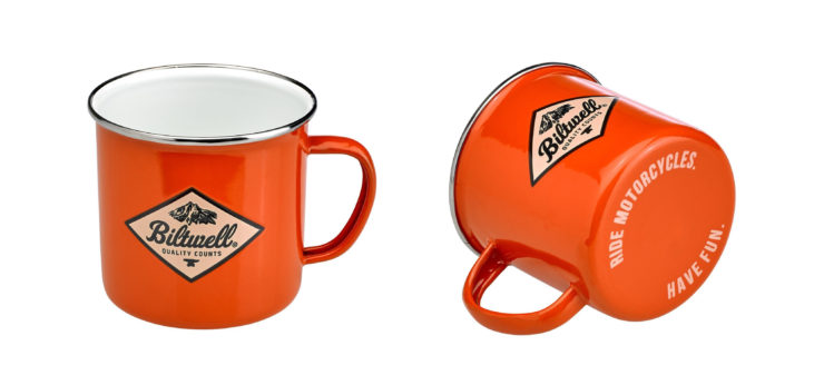 Biltwell Camp Mug Orange