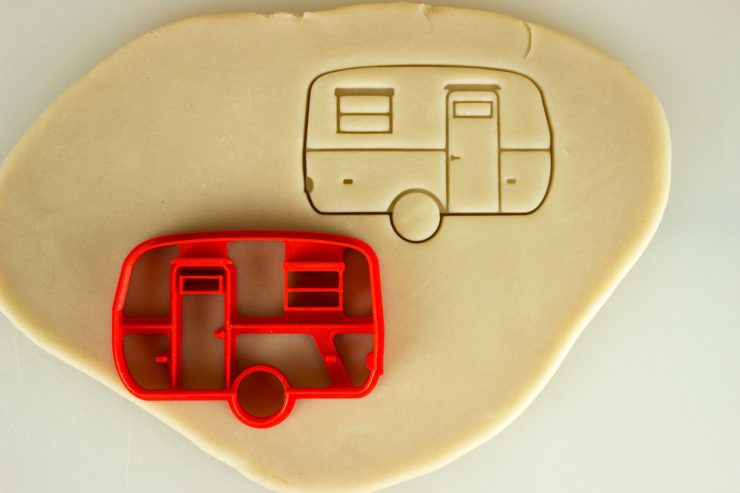 Car Cookie Cutters Camper Trailer