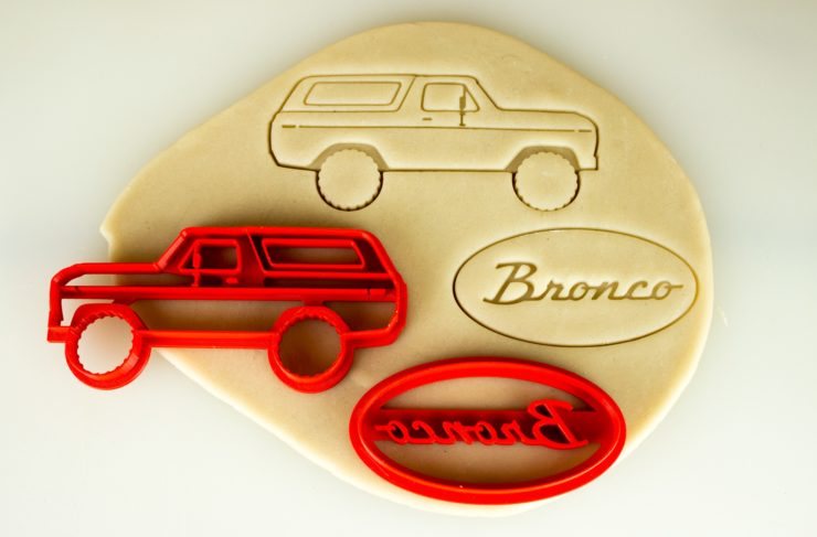 Car Cookie Cutters Ford Bronco