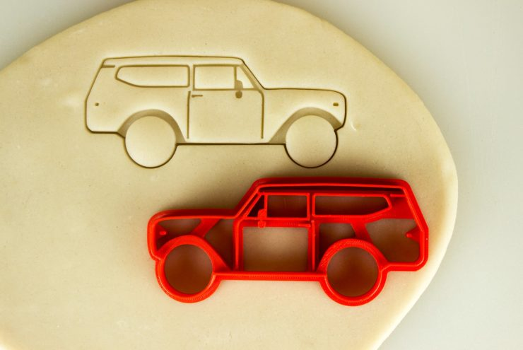 Car Cookie Cutters International Scout