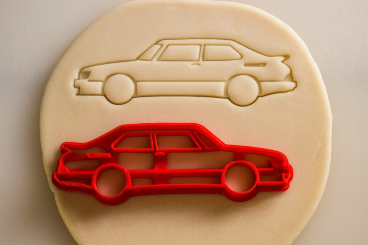 Car Cookie Cutters Saab 900 Car